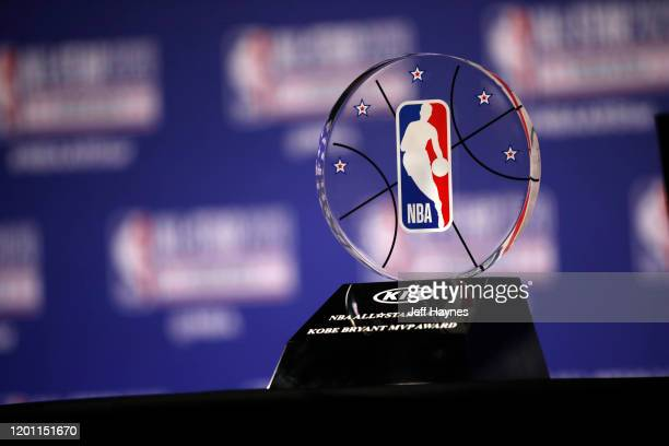 Commissioner Adam Silver announces NBA All-Star Game MVP Trophy will honor Kobe Bryant during NBA All-Star Saturday Night Presented by State Farm as...