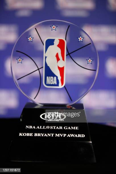 Commissioner Adam Silver announces NBA AllStar Game MVP Trophy will honor Kobe Bryant during NBA AllStar Saturday Night Presented by State Farm as...