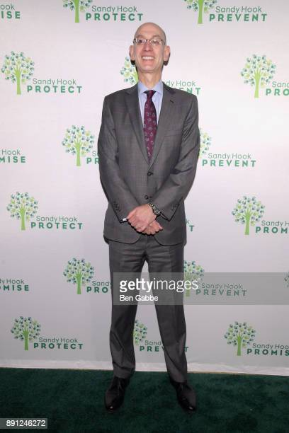 Commissioner Adam Silver attends the Sandy Hook Promise 5 Year Remembrance Benefit at The Plaza Hotel on December 12 2017 in New York City