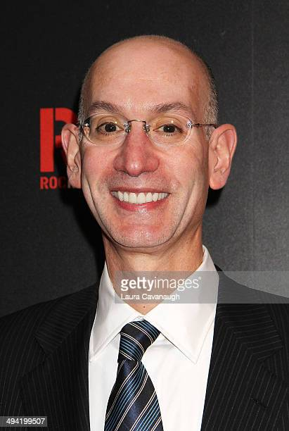 Commissioner Adam Silver attends the The Paley Center for Media 2014 Spring Benefit Dinner at 583 Park Avenue on May 28 2014 in New York City