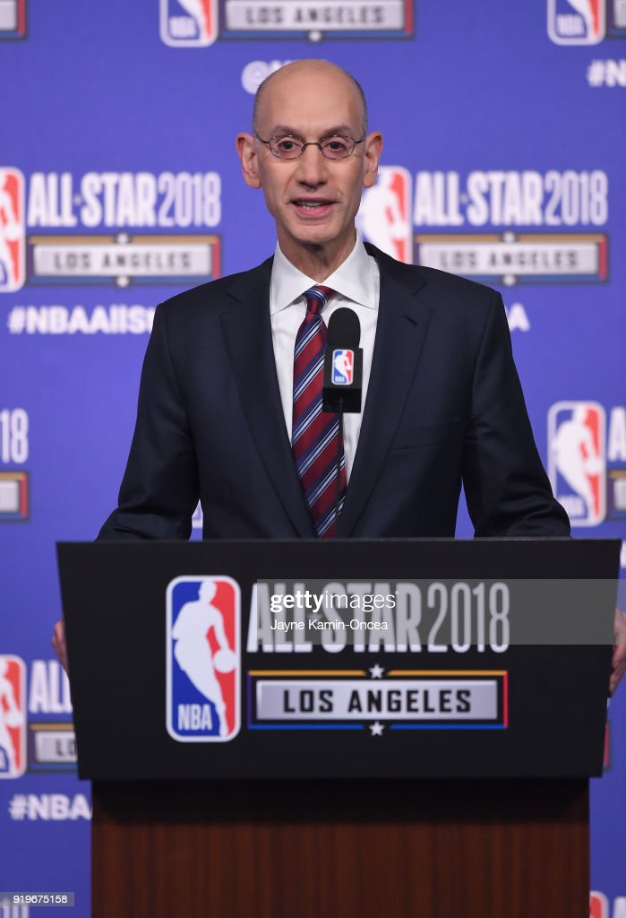 NBA All-Star Game 2018 - Commissioner Adam Silver Press Conference