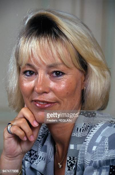 Commissioner And High Ranking Civil Servant Martine Monteil Paris August 5 1994