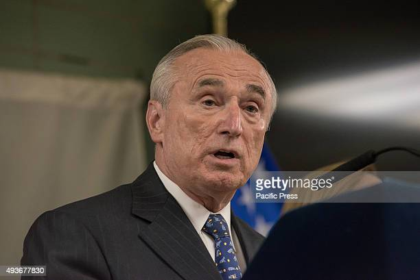 Commissioner Bratton speaks to the press about the dangers of synthetic cannabis. NYC Mayor Bill de Blasio, joined by NYPD Commissioner Bill Bratton...