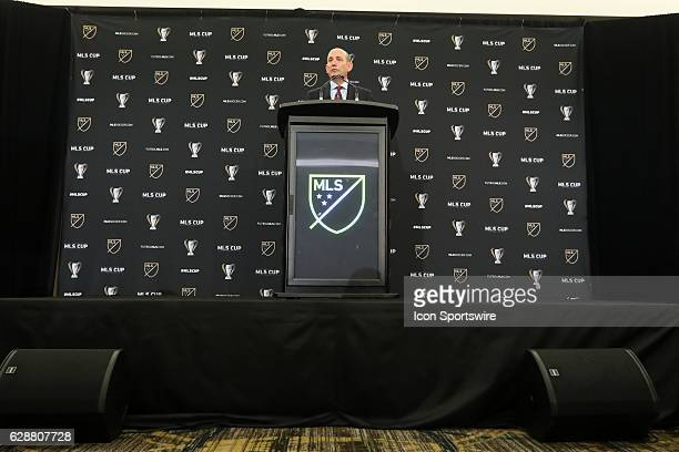 Commissioner Don Garber held his annual Major League Soccer State of the League Address and press conference one day before MLS Cup 2016. The address...
