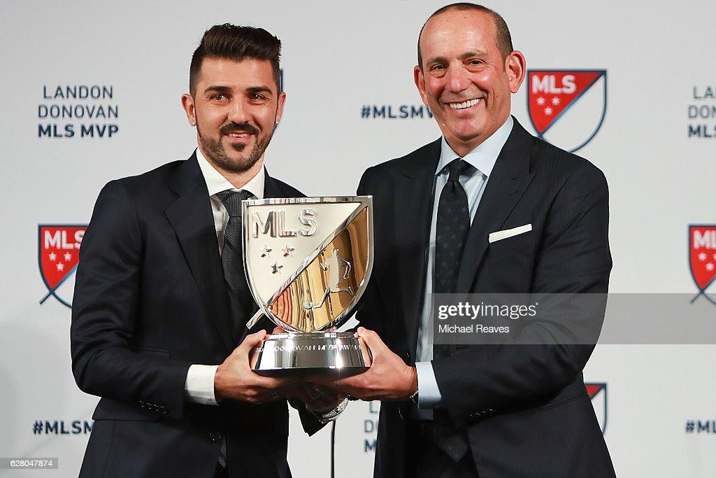 Commissioner Don Garber Announces 2016 MLS MVP Award