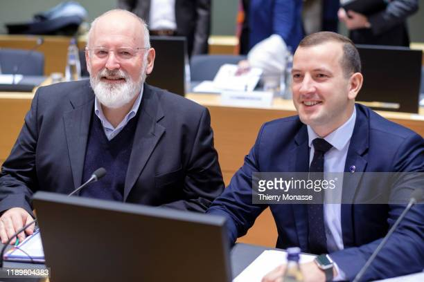 Commissioner for European Green Deal First Vice President and Executive Vice President Frans Timmermans and the EU Commissioner for Environment...