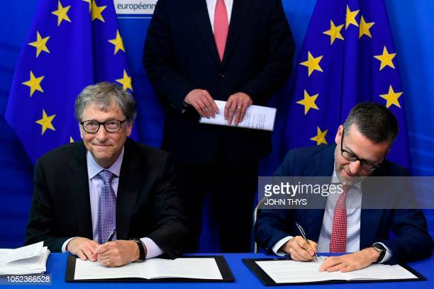 Commissioner for Research Science and Innovation Carlos Moedas and founder of Microsoft and chairman of Breakthrough Energy Ventures to establish the...