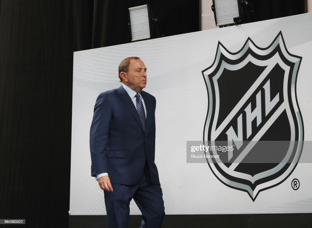 2018 NHL Draft - Round One : News Photo