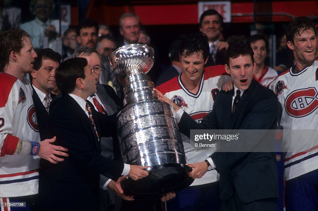 1993 Stanley Cup Finals - Game 5:  Los Angeles Kings v Montreal Canadiens : News Photo
