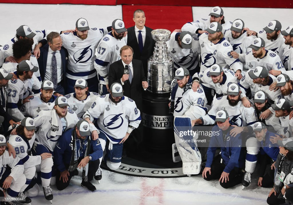 2020 NHL Stanley Cup Final - Game Six : News Photo