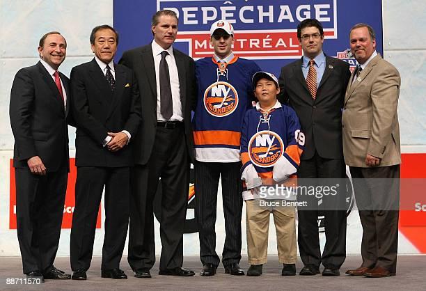 NHL Commissioner Gary Bettman Team owner Charles Wang General Manger Garth Snow John Tavares Assistant General Manager/Director of Amateur Scouting...
