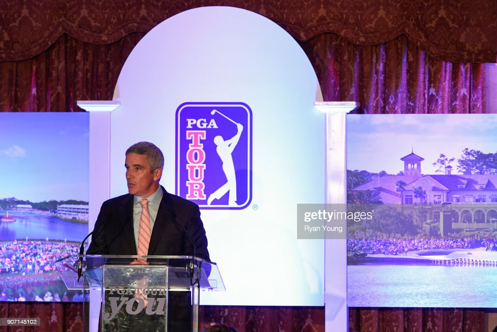 PGA TOUR Global Home Press Conference At TPC Sawgrass