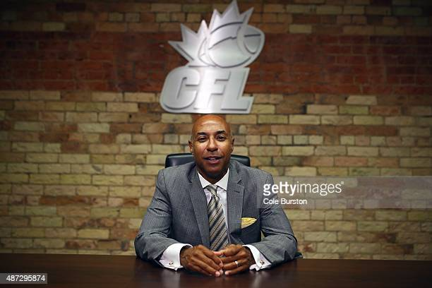 Commissioner Jeffrey Orridge photographed at the CFL Headquarters in downtown Toronto