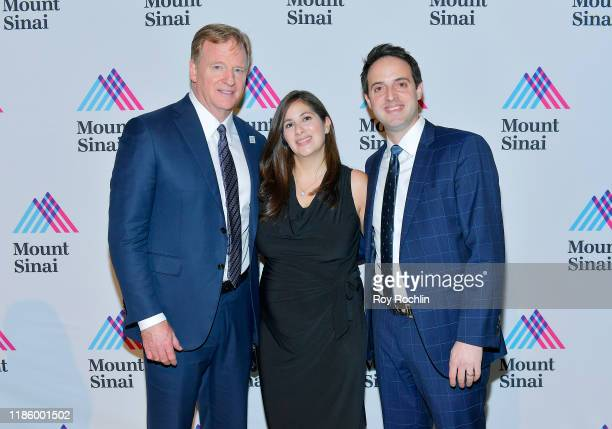 Commissioner NFL Roger Goodell and guests attend 2019 Mount Sinai Prostate Cancer Research Gala at Cipriani 42nd Street on November 06 2019 in New...