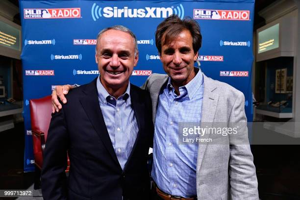 SiriusXM host Chris 'Mad Dog' Russo appears at a SiriusXM Town Hall with Commissioner of Baseball Rob Manfred at The Library of Congress on July 15...