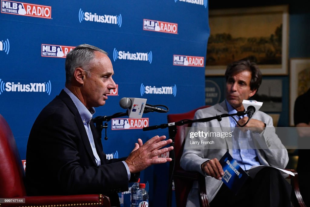 SiriusXM Presents A Town Hall With MLB Commissioner Rob Manfred