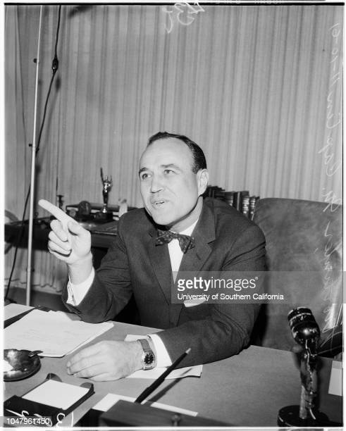 Commissioner of Internal Revenue, 10 November 1961. Mortimer M Caplin.;Caption slip reads: 'Photographer: Lapp. Date: . Reporter: Waymire....