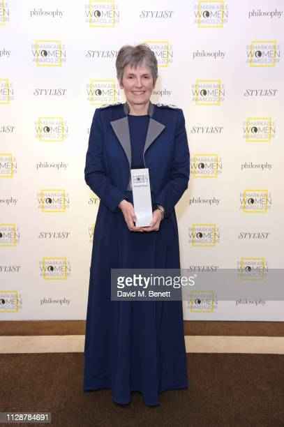 Commissioner of the Metropolitan Police Service Cressida Dick winner of the Glass Ceiling Award attends Stylist's inaugural Remarkable Women Awards...