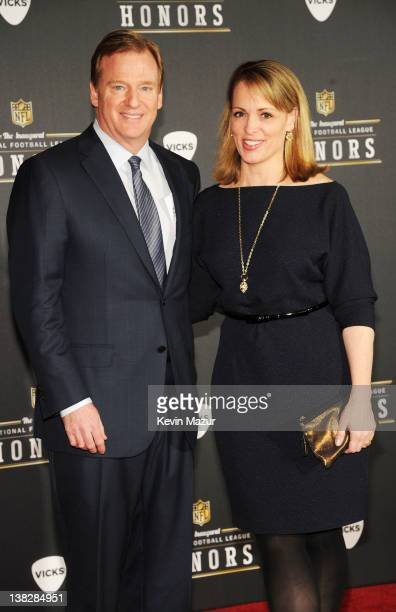 Commissioner of the National Football League Roger Goodell attends the 2012 NFL Honors at the Murat Theatre on February 4 2012 in Indianapolis Indiana