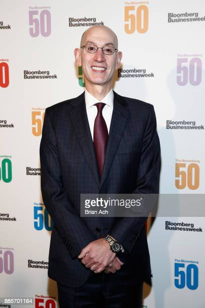 Commissioner of the NBA Adam Silver attends 'The Bloomberg 50' Celebration at Gotham Hall on December 4 2017 in New York City