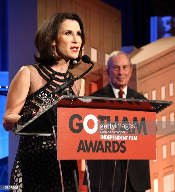 Commissioner of the New York City Mayor's Office of Media and Entertainment Katherine Oliver attends the 23rd annual Gotham Independent Film Awards...