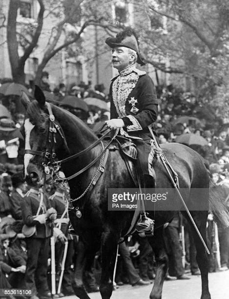 Commissioner of the Police Sir Edward Henry on the Coronation day of George V.