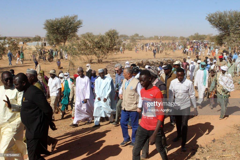 Terror attacks in Niger : News Photo