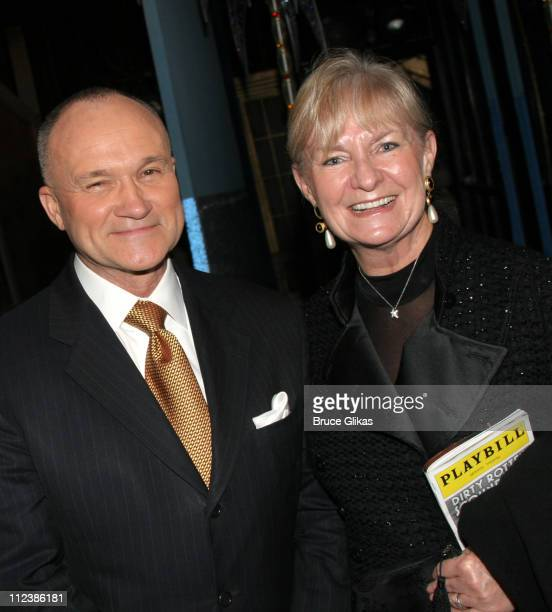 Commissioner Raymond W Kelly and wife **EXCLUSIVE COVERAGE**