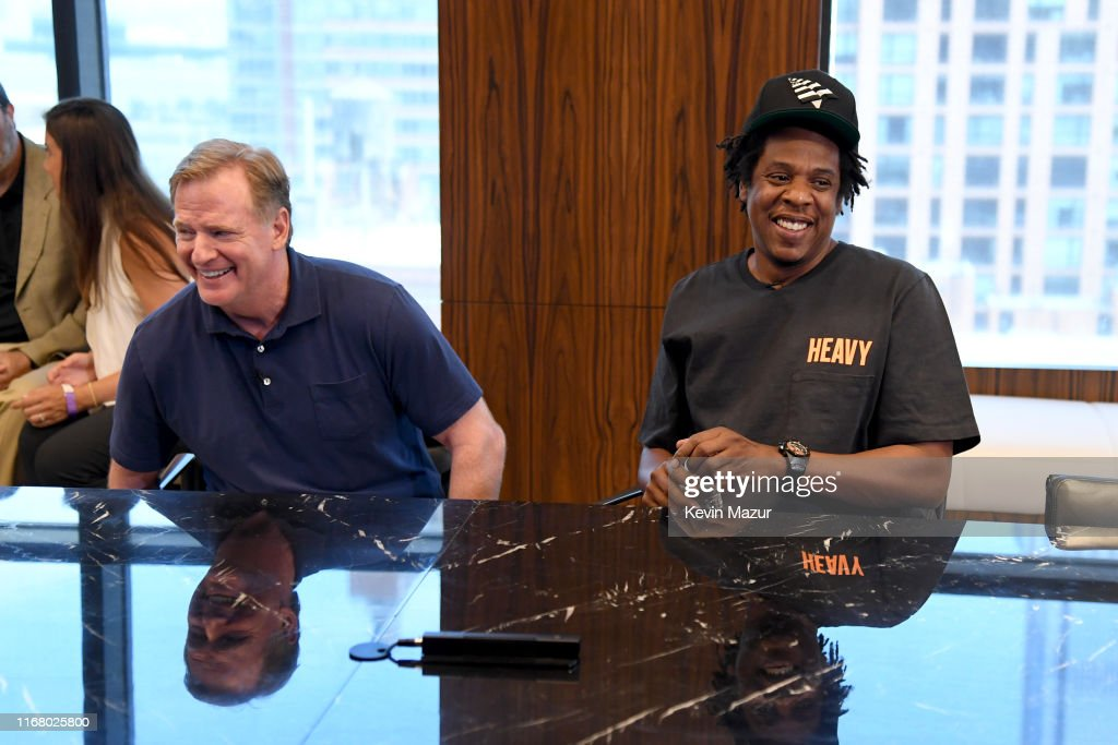 Roc Nation And NFL Announce Partnership : News Photo