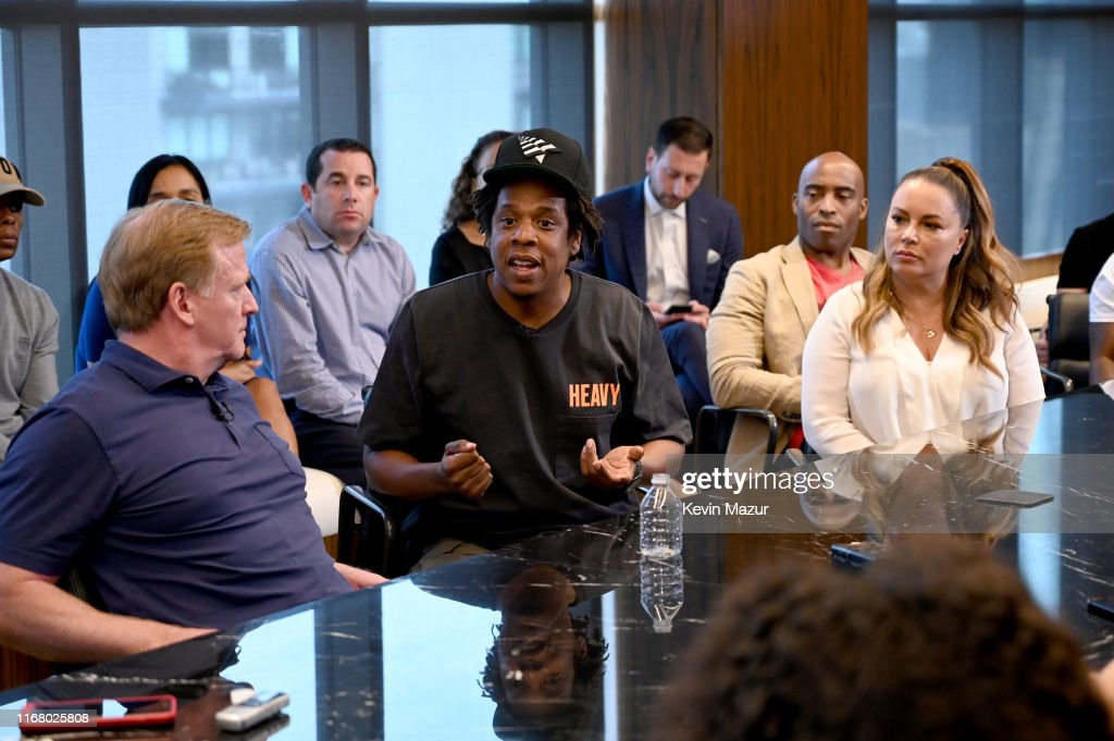 Roc Nation And NFL Announce Partnership : ニュース写真