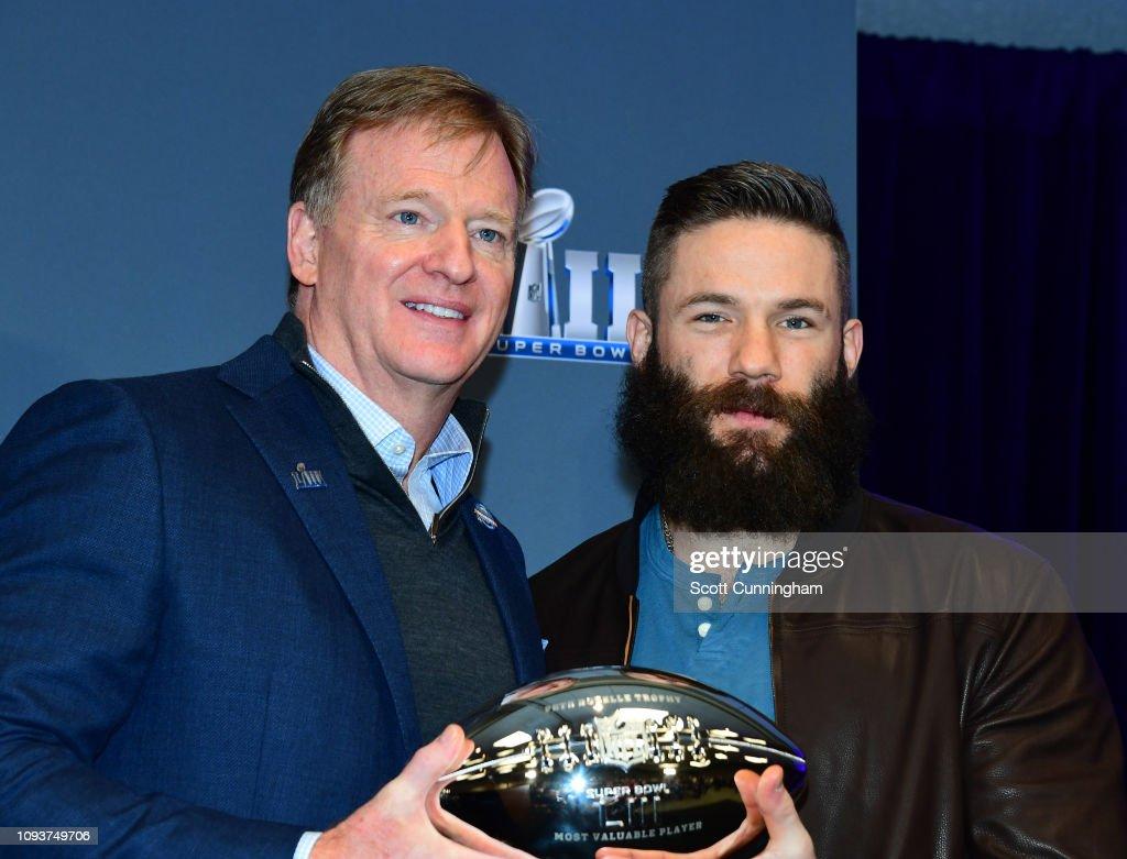 Super Bowl LIII - MVP & Winning Coach Press Conference : News Photo