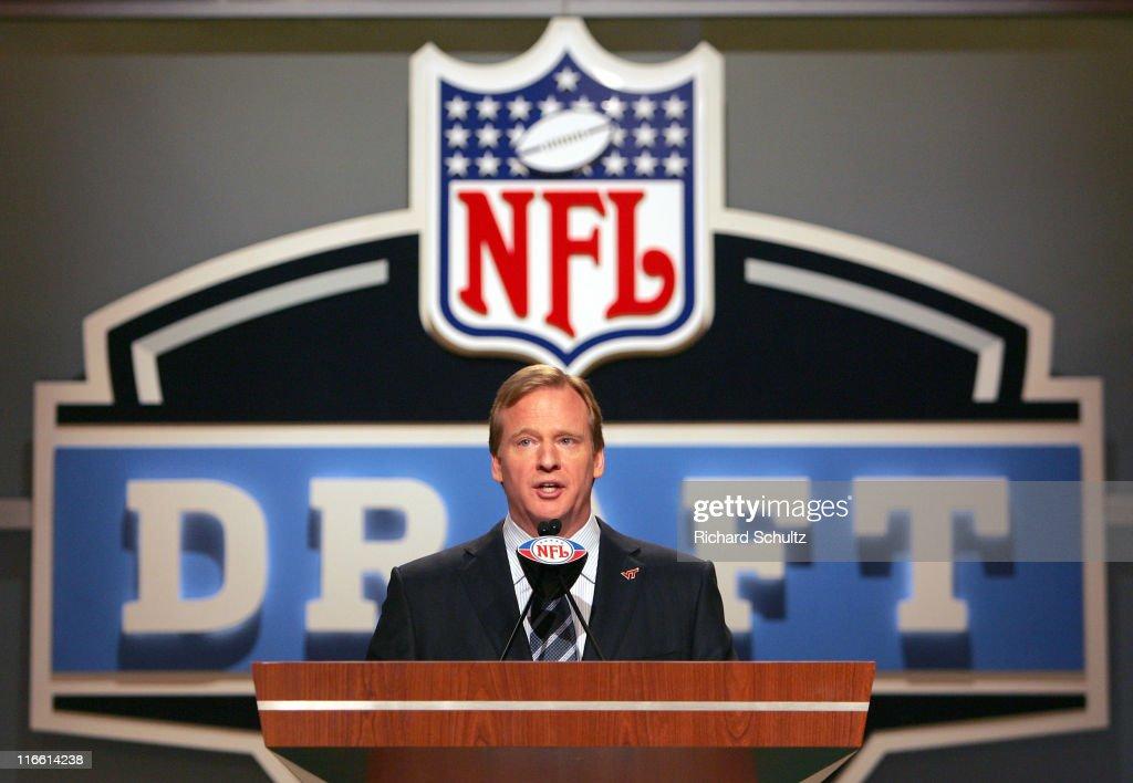 2007 NFL Draft - April 28, 2007 : News Photo