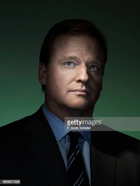 NFL Commissioner Roger Goodell is photographed in 2007 COVER IMAGE