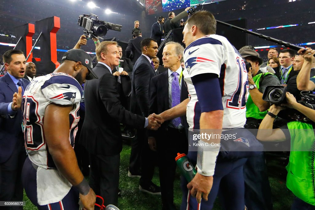 Super Bowl LI - New England Patriots v Atlanta Falcons : News Photo