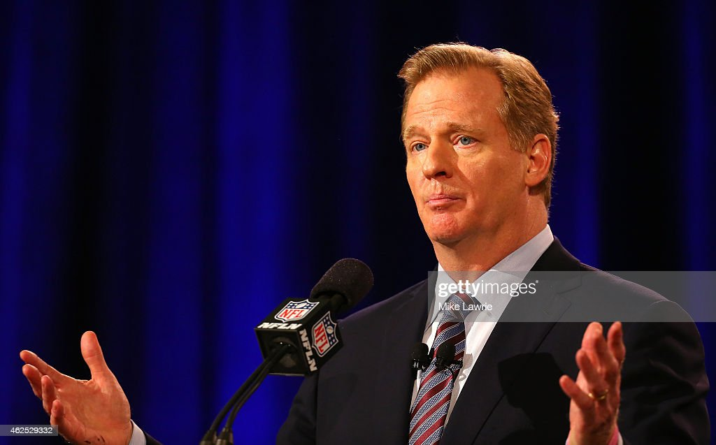 NFL Commissioner Roger Goodell Press Conference : News Photo