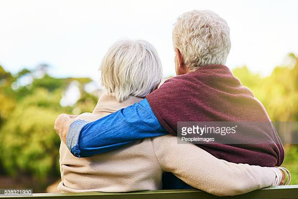 committed to a lifetime of love - bench stock pictures, royalty-free photos & images