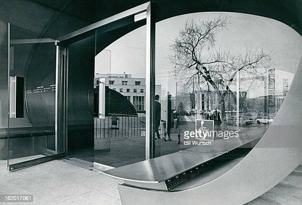 FEB 26 1974 FEB 27 1974 Committee Approves Denver Art Museum As WheelChair Accessible Mrs Lila Montoya chairman of Architectural Barrier Committee of...