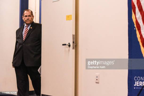 Committee Chairman of US House Judiciary Committee Rep Jerry Nadler speaks to members of the press on May 29 2019 in New York City Jerry Nadler...