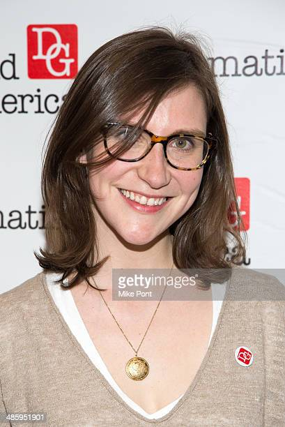 Committee Member Kait Kerrigan attends the 2014 AntiPiracy Awareness event at The Dramatists Guild of America on April 21 2014 in New York City