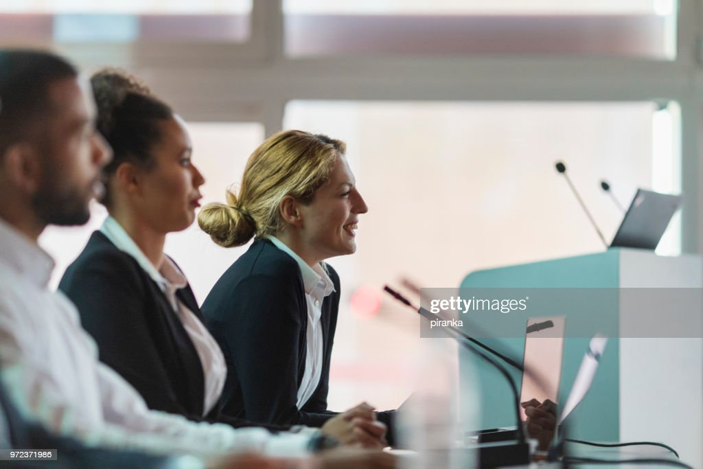 Committee members : Stock Photo
