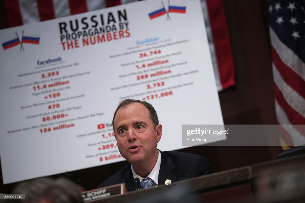 Tech Company Reps Testify To House Select Intel Committee On Russian Social Media Influence During Election