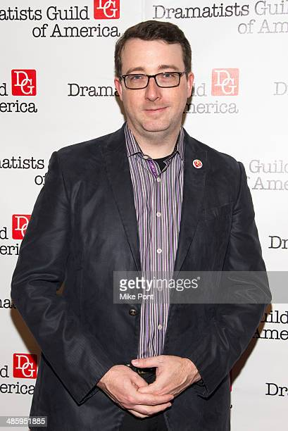 Committie Member Sean Patrick Flahaven attends the 2014 AntiPiracy Awareness event at The Dramatists Guild of America on April 21 2014 in New York...