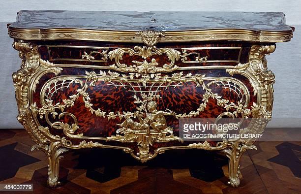 Commode by Johann Melchior Kambli Sanssouci Palace Potsdam Brandenburg Germany