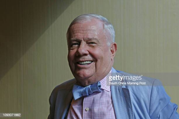 Commodities investor Jim Rogers attends ITF Corp Media Luncheon at Conrad Hotel in Admiralty. 18OCT17 SCMP / Jonathan Wong