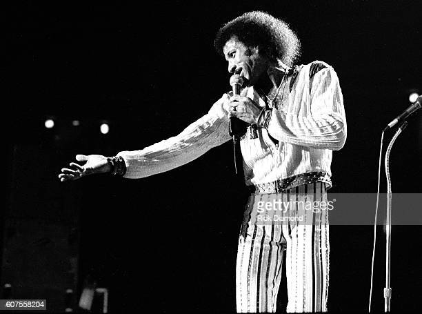 Commodores with Lionel Richie perform at The Omni Coliseum in Atlanta Georgia August 8 1980