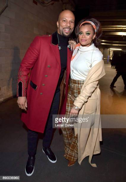 Common and Andra Day attend Stevie's 21st Annual House Full of Toys Benefit Concert at Staples Center on December 10 2017 in Los Angeles California