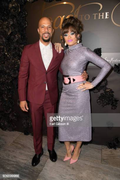 Common and Andra Day attend Toast To The Arts Presented By Remy Martin at Ysabel on March 2 2018 in West Hollywood California