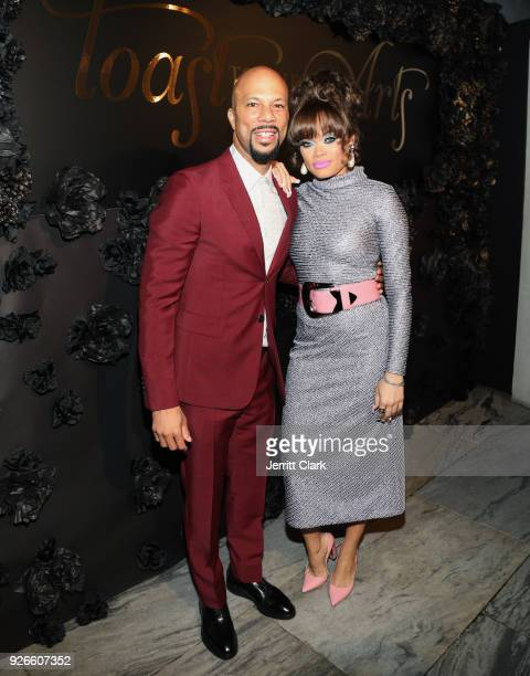 Common and Andra Day attend Toast To The Arts Presented by Remy Martin on March 2 2018 in West Hollywood California