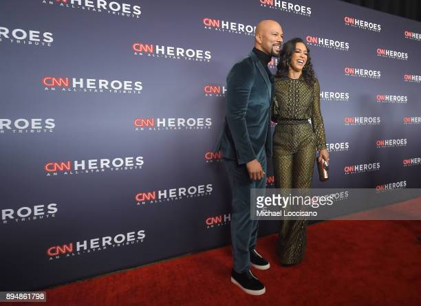 Common and Angela Rye attend CNN Heroes 2017 at the American Museum of Natural History on December 17 2017 in New York City 27437_015