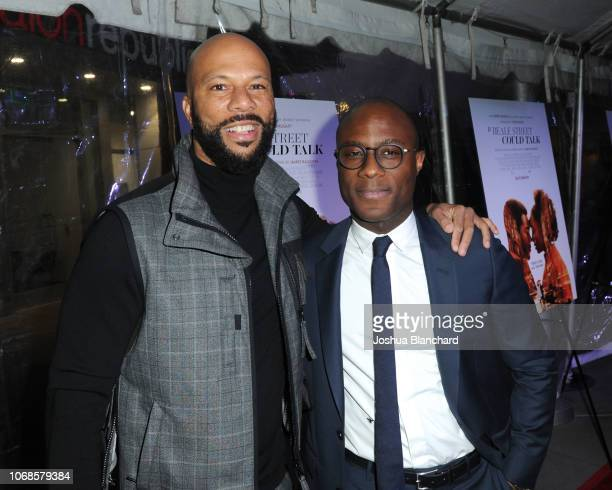 Common and Barry Jenkins arrive at the Los Angeles Special Screening of Annapurna's If Beale Street Could Talk on December 4 2018 in Los Angeles...